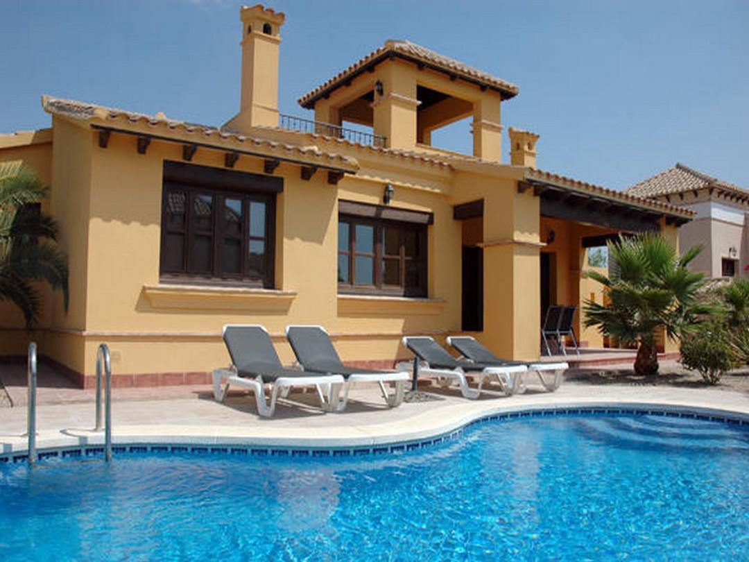Villa -                                       Fuente Alamo -                                       3 bedrooms -                                       6 personas persons